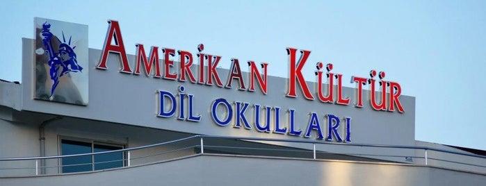 Amerikan Kültür Derneği Dil Okulları Manavgat is one of สถานที่ที่บันทึกไว้ของ Gulseren.