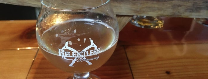 Relentless Brewing is one of Tempat yang Disimpan Ursula.