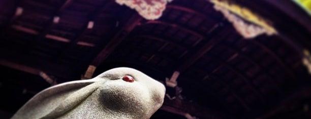 岡崎神社 is one of Lieux qui ont plu à Saejima.