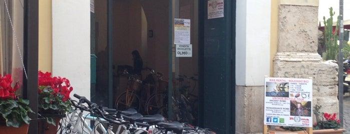 Posti salvati di Roma rent bike