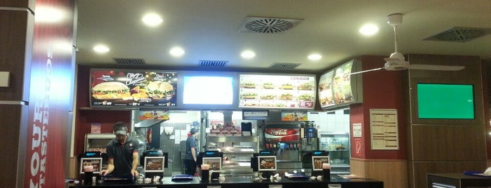 Burger King is one of Essen gehen.