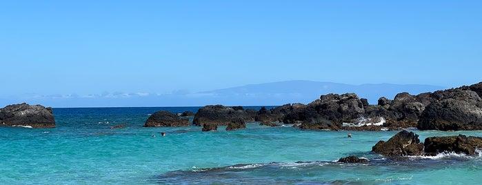 Manini'owali Beach is one of Hawai'i.