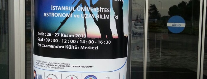 Samandıra Kültür Merkezi is one of Halil'in Beğendiği Mekanlar.