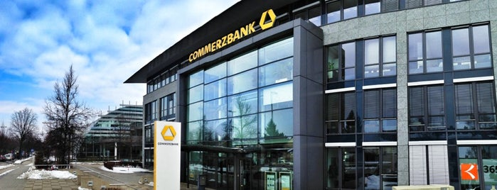 Commerzbank is one of Orte, die Rob gefallen.