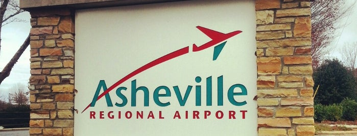 Asheville Regional Airport (AVL) is one of Airports.