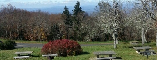 Craggy Gardens is one of Blue Ridge Parkway.