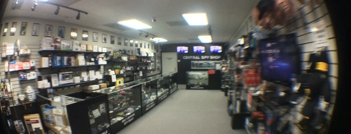 Central Spy Shop is one of Fun things n places!.
