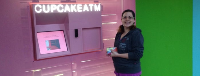 Sprinkles Cupcake ATM is one of Rebecca's Liked Places.