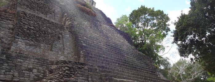 Zona Arqueológica de Dzibanché is one of สถานที่ที่บันทึกไว้ของ Armando.