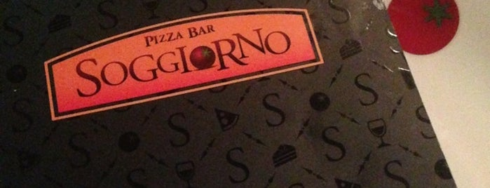 Soggiorno Pizza Bar is one of Comer e Beber.
