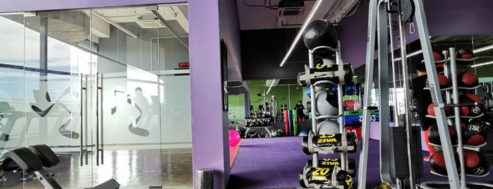 Anytime Fitness is one of Tempat yang Disukai Gerald Bon.
