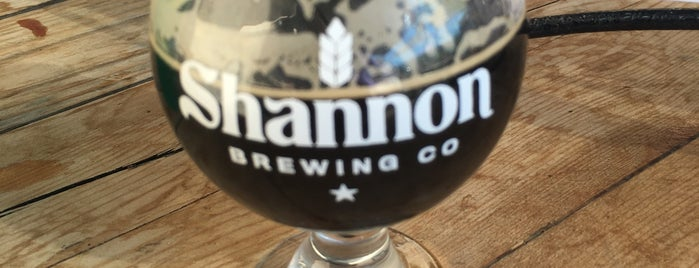 Shannon Brewing Company is one of Breweries.