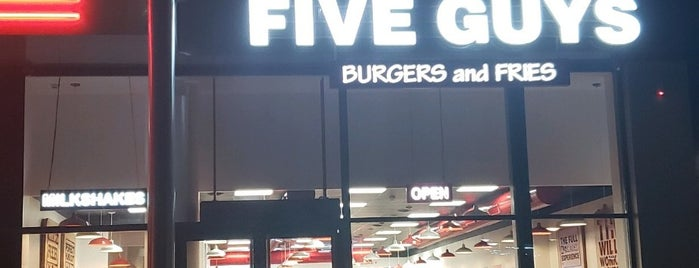 Five Guys is one of Paris.