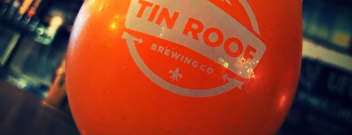 Tin Roof Brewing Company is one of Best of BR.