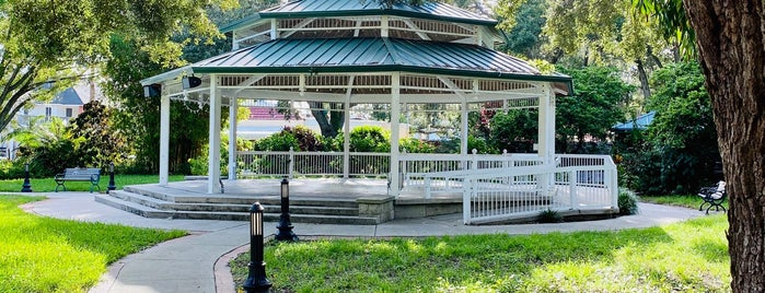 Gazebo John Wilson Park is one of Livin' Large Summer.