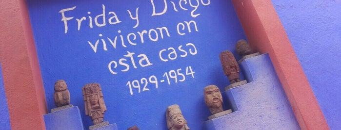 Museo Frida Kahlo is one of CDMX_París_Eli&Gina_II.
