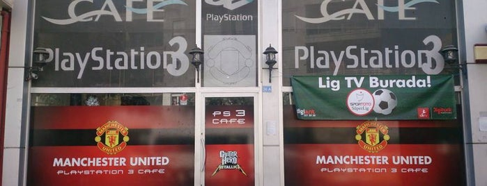 Manchester Playstation Cafe is one of Gittiğim ve gideceğim yerler.