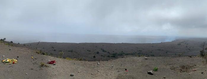 Halema'uma'u Crater is one of Big island.