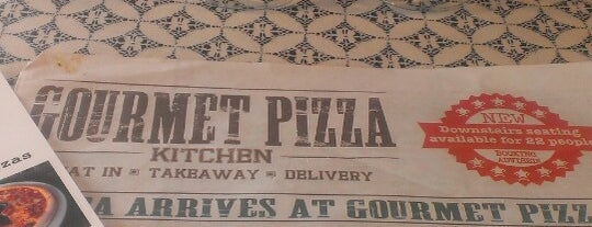 Gourmet Pizza Kitchen is one of Brighton.