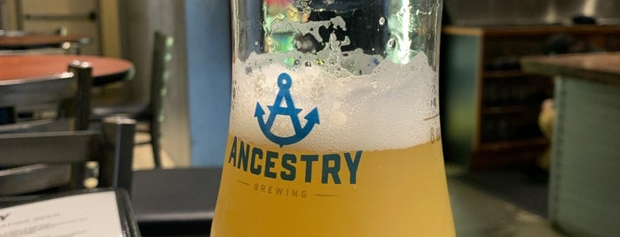 Ancestry Brewing Taproom is one of pdx brews 🍻.