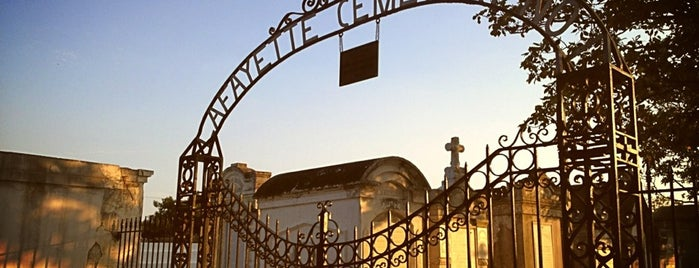 Lafayette Cemetery Nº 1 is one of New Orleans Points of Interest.