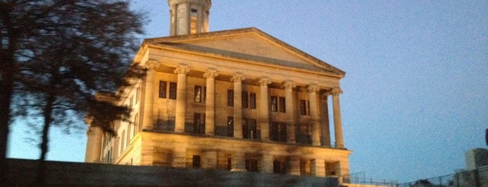 Tennessee State Capitol is one of The Crowe Footsteps.