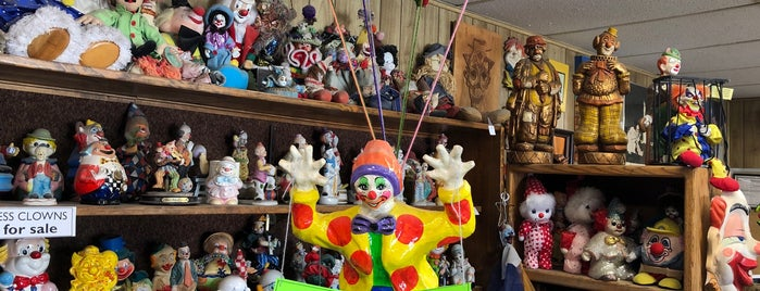 Clown Motel is one of North America.