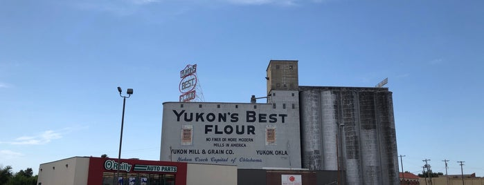 Yukon's Best Flour Mill is one of OKC Faves.