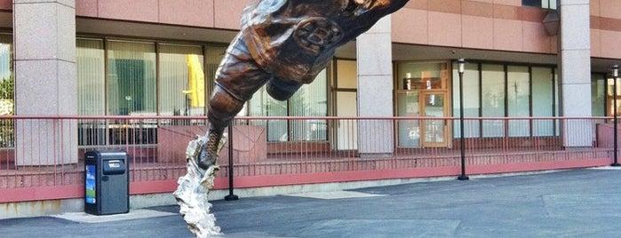 Bobby Orr Statue @ TD Garden is one of Lieux qui ont plu à Al.