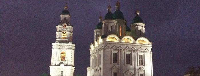 Астраханский кремль is one of Lugares favoritos de Павел.