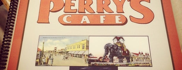 Perry's Cafe is one of Atlantic city.