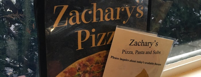 Zachary's Pizza is one of Lugares favoritos de Offbeat.