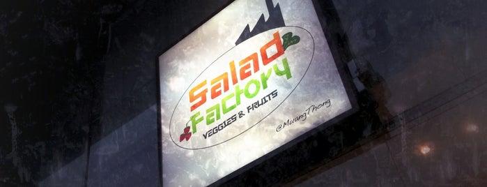 Salad Factory is one of Tee 님이 좋아한 장소.