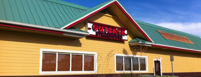 Outback Steakhouse is one of Jason : понравившиеся места.