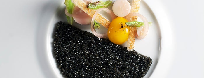 Caviar Russe is one of 2015 Michelin Stars: New York.