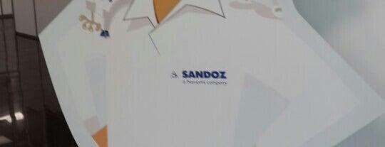 Sandoz is one of IZMIR & ISTANBUL - TURKEY.