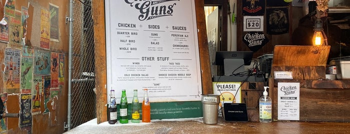 Chicken and Guns is one of Portland.
