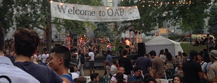 Open Air Pub (OAP) is one of **Montréal**.