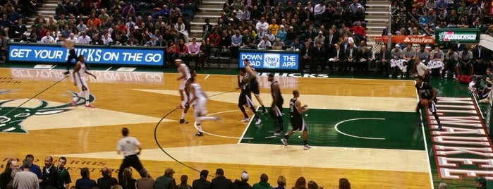 BMO Harris Bradley Center is one of Big Matchs's Today!.
