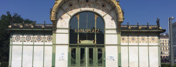 Otto Wagner Pavillon Karlsplatz is one of Architecture.