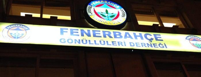 Fenerbahçe Gönüllüleri Derneği is one of Lieux sauvegardés par A.Ridvan.