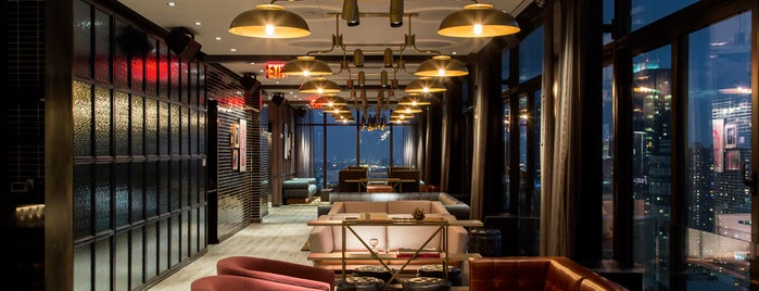 The Skylark is one of Rooftop Bars with Drinks to get Drunk in NYC.