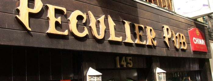 Peculier Pub is one of NYC Bars.