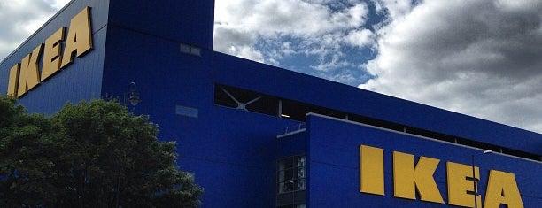 IKEA is one of Orte, die Bora gefallen.