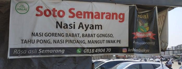 Kedai Mbakyu Serba Semarangan is one of Kuliner Bekasi.