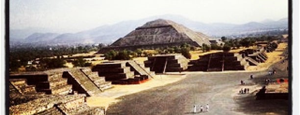 Zona Arqueológica de Teotihuacán is one of Mexico City.