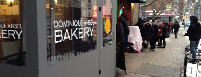 Dominique Ansel Bakery is one of NYMag Where to Eat 2014.