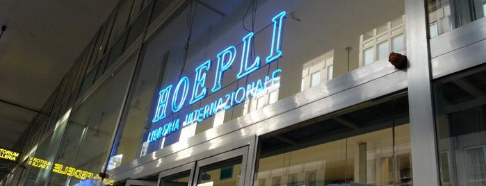 Libreria Internazionale Ulrico Hoepli is one of Milan.