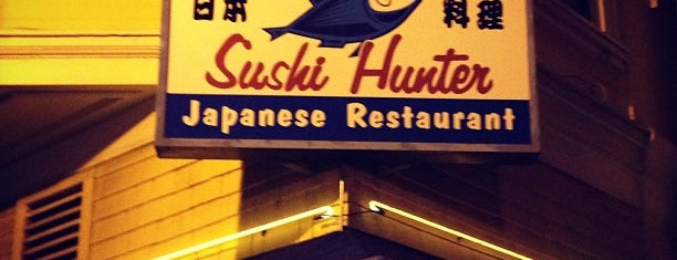 Sushi Hunter is one of San Francisco Bars.