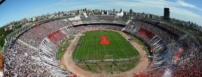 "Estadio Antonio Vespucio Liberti ""Monumental"" (Club Atlético River Plate) is one of The Great Football Pilgrimage."